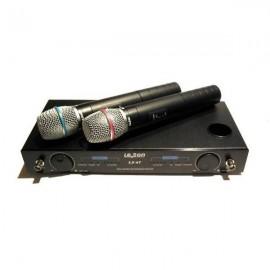 LS - 87 zestaw dwóch mikrofonów bezprzewodowych ( z ładowarką )