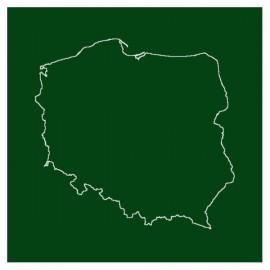 Liniatura - Kontur Polski - malowanie