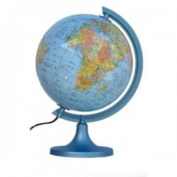 Globus polityczno-fizyczny podświetlany Ø 25