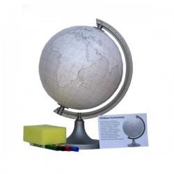 Globus konturowy (z pisakami) Ø 25