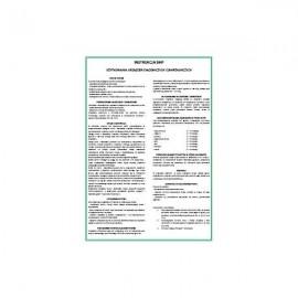 295 Instrukcja BHP - obsługa urządzeń chłodniczych i zamrażalniczych