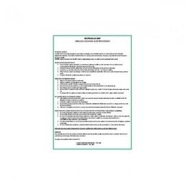 296 Instrukcja BHP - obsługa czajnika elektrycznego