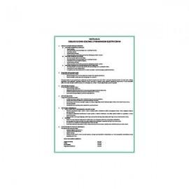 303 Instrukcja BHP - obsługi kuchni gazowej z piekarnikiem elektrycznym