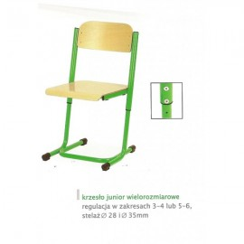 2124 Krzesło Junior wielorozmiarowy