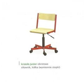 2125 Krzesło Junior obrotowe siłownik gazowy