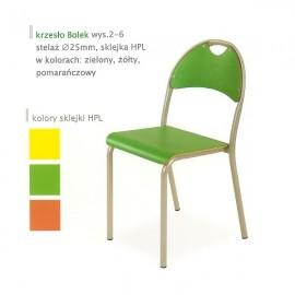 2129 Krzesło Bolek st. malowany sklejka laminowana