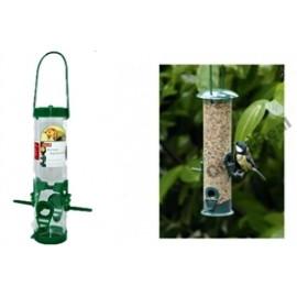 2643 Karmnik ptasi zawieszany ze szczotką i poziomem napełniania