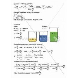 139 Rozwiązania zadań na gęstość substancji cz. 3