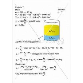 140 Rozwiązania zadań na gęstość substancji cz. 4