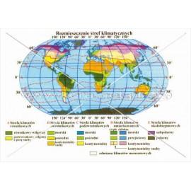 199 Świat - Rozmieszczenie stref klimatycznych