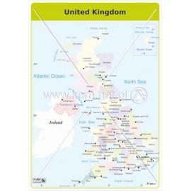 337 Mapa administracyjna Anglii