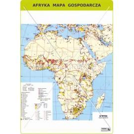 456 Afryka - Mapa gospodarcza
