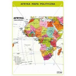 457 Afryka - Mapa polityczna