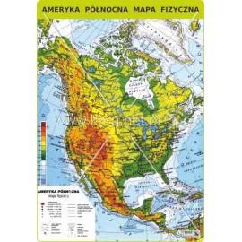 459 Ameryka Północna - Mapa fizyczna