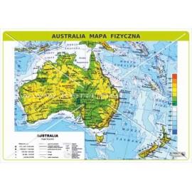 463 Australia - Mapa fizyczna