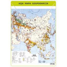 465 Azja - Mapa gospodarcza