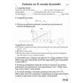 1708 Zadania na II zasadę dynamiki cz. 1