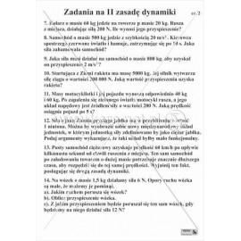 1709 Zadania na II zasadę dynamiki cz. 2