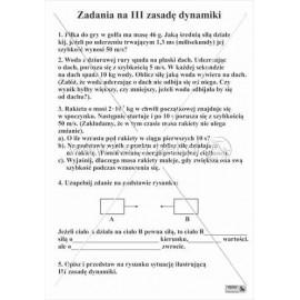 1710 Zadania na III zasadę dynamiki