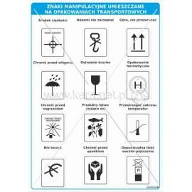 3102 Znaki manipulacyjne umieszczane na opakowaniach transportowych
