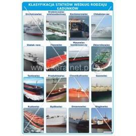 3121 Klasyfikacja statków według rodzaju ładunków