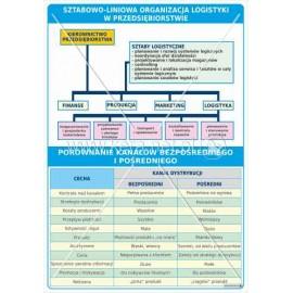 3142 Sztabowo-liniowa organizacja logistyki w przedsiębiorstwie