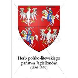 3273 Herb polsko-litewskiego państwa Jagiellonów A3